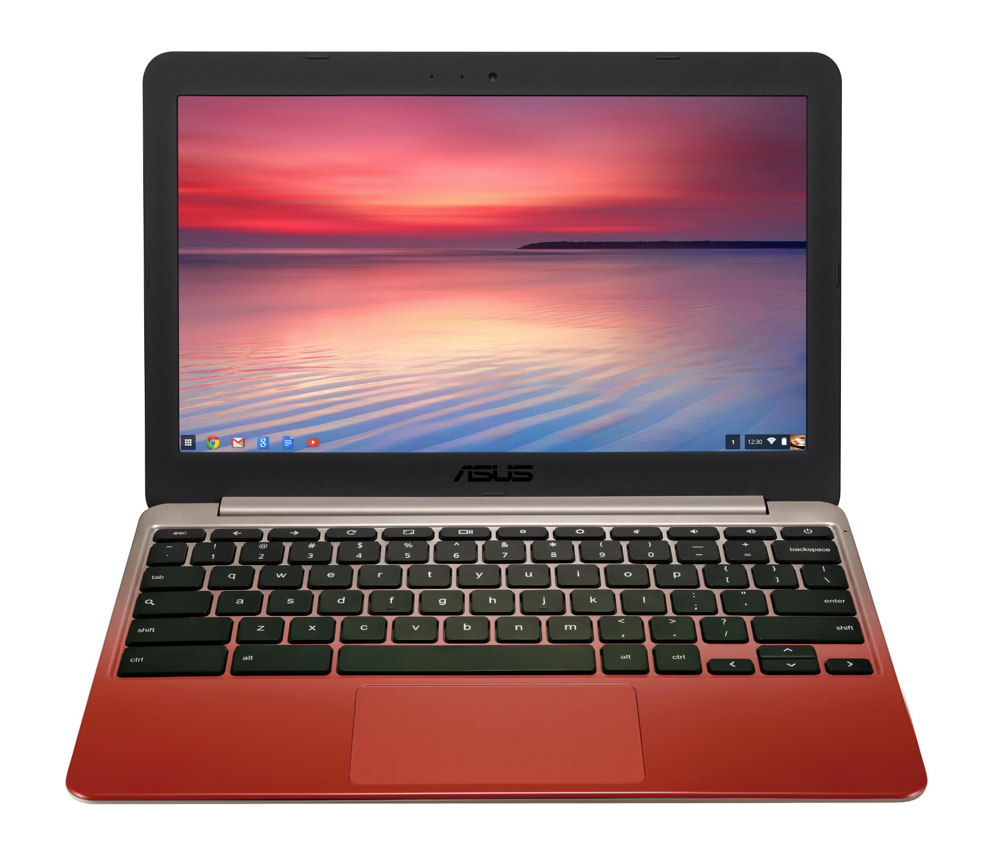 "ASUS Chromebook C201PA-FD0015 RK3288C 11.6"" 1366 x 768pixels Gold,Red Chromebook"