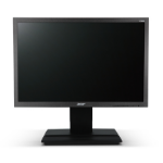 "Acer Professional B196Lwmdr 19"" Black computer monitor"