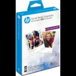 HP W2G60A papel fotográfico Blanco Semi-brillo