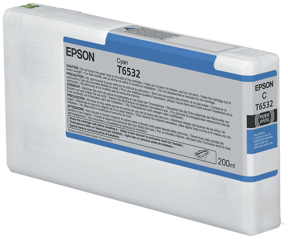 Epson Cartucho T6532 cian