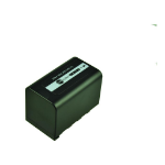 2-Power Camcorder Battery 7.2V 4400mAh
