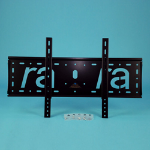 "Ra technology RA-75-LCD 46"" Black flat panel wall mount"