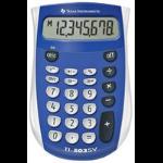 Texas Instruments TI-503 SV 8 Digit Pocket Calculator Blue