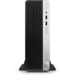 HP ProDesk 400 G5 3.6GHz i3-8100 SFF Black, Silver PC
