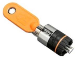 DELL 461-10154 cable lock Black,Silver