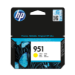 HP Cartucho de tinta original 951 amarillo