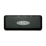 Origin Storage 4K Travel Dock USB C Docking USB 3.2 Gen 1 (3.1 Gen 1) Type-C Black
