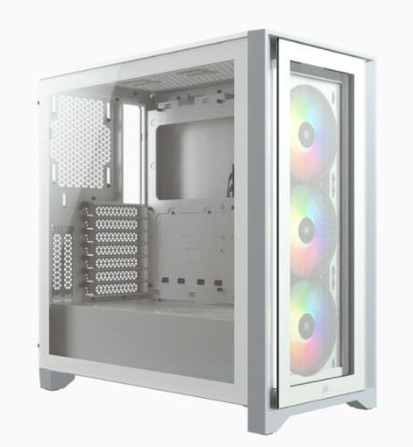 Corsair iCUE 4000X RGB Midi Tower White