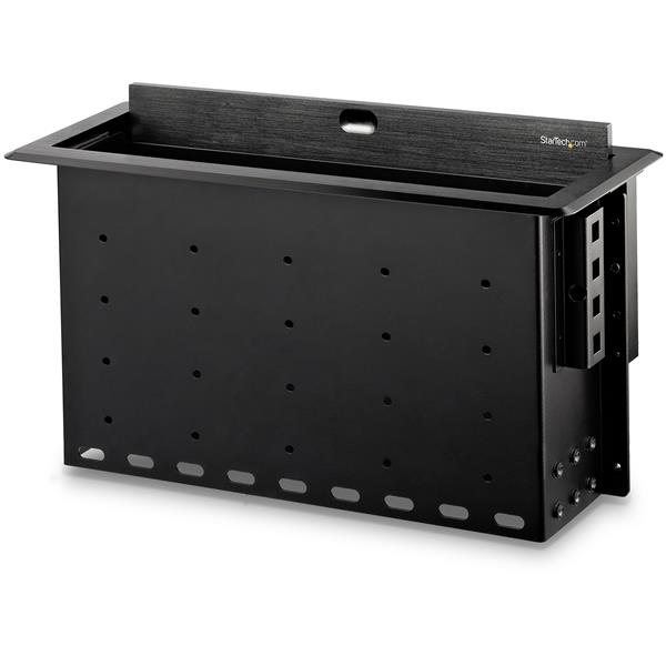 StarTech Dual-Module Conference Table Connectivity Box with Cable Organizer