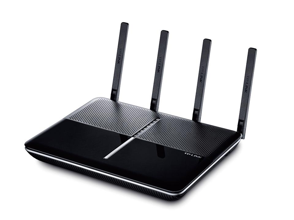 TP-LINK Archer C3150 wireless router Tri-band (2.4 GHz / 5 GHz / 5 GHz) Gigabit Ethernet Black