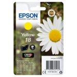 Epson C13T18044012 (18) Ink cartridge yellow, 180 pages, 3ml
