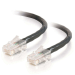 C2G 83315 cable de red 1 m Cat5e U/UTP (UTP) Negro