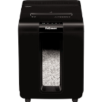 Fellowes AutoMax 100M paper shredder Micro-cut shredding 22 cm Black