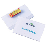 Durable Magnetic Badge 54x90mm 25pc(s)