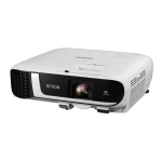 Epson EB-FH52 data projector Portable projector 4000 ANSI lumens 3LCD 1080p (1920x1080) Black, White