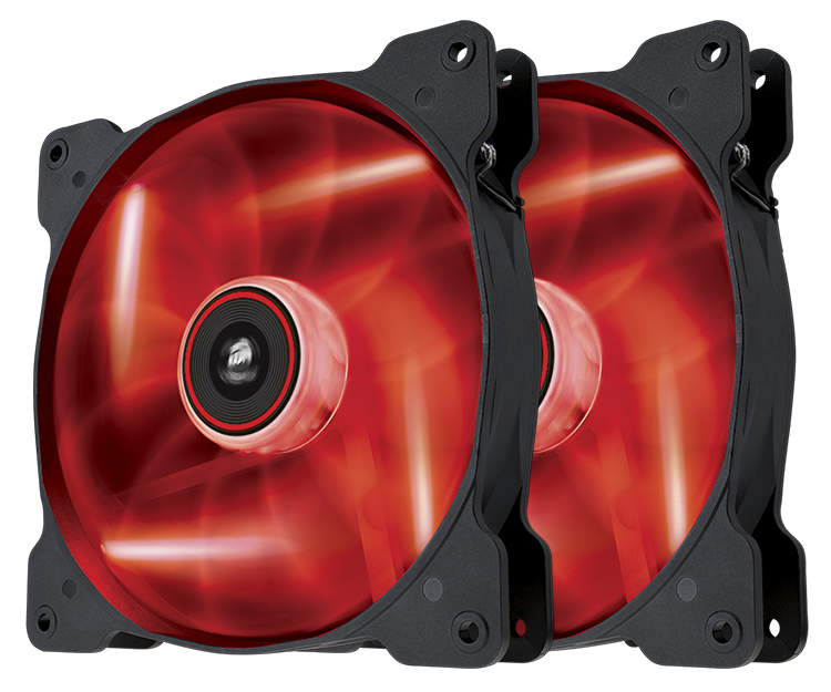 Corsair Air SP140 LED Twin Pack