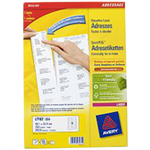 Avery L7162-250 White Self-adhesive label addressing label