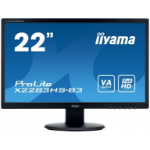 "iiyama ProLite X2283HS-B3 21.5"" Full HD VA Matt Black computer monitor LED display"