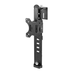 "Newstar FPMA-CH100BLACK 30"" Clamp Black flat panel desk mount"