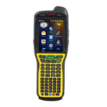 "Honeywell Dolphin 99EX 3.5"" 480 x 640pixels Touchscreen 581g Black,Yellow handheld mobile computer"