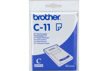 Brother C-11 papel térmico A7