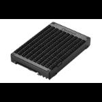 QNAP QDA-U2MP storage drive enclosure M.2 SSD enclosure Black