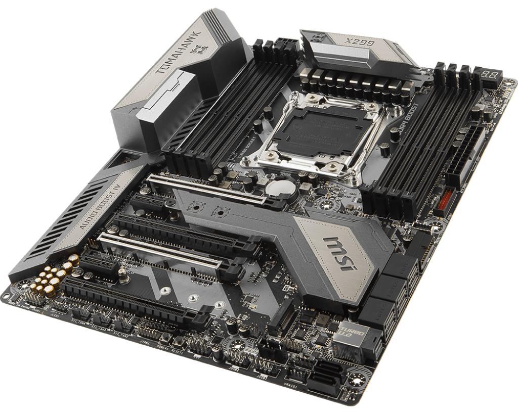 MSI X299 TOMAHAWK AC Intel X299 LGA 2066 ATX motherboard