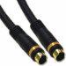 """C2G Velocity™ 25ft S-video cable 300"""" (7.62 m) S-Video (4-pin) Black"""