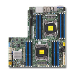 Supermicro X10DRW-i server/workstation motherboard Intel® C612 LGA 2011 (Socket R)