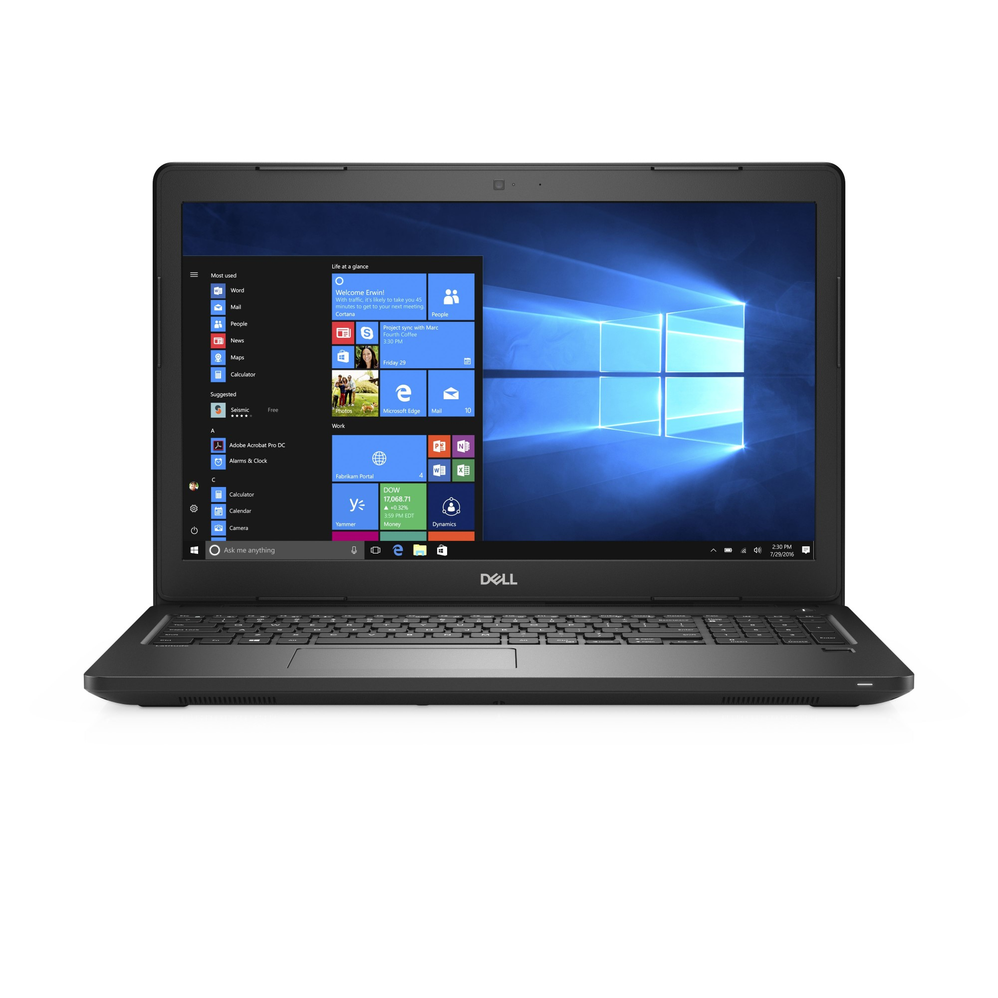 """DELL Latitude 3580 2.3GHz i5-6200U 15.6"""" 1366 x 768pixels Black Notebook"""