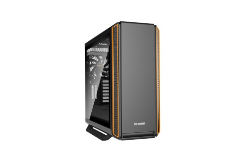 be quiet! Silent Base 801 Window Midi-Tower Black,Orange