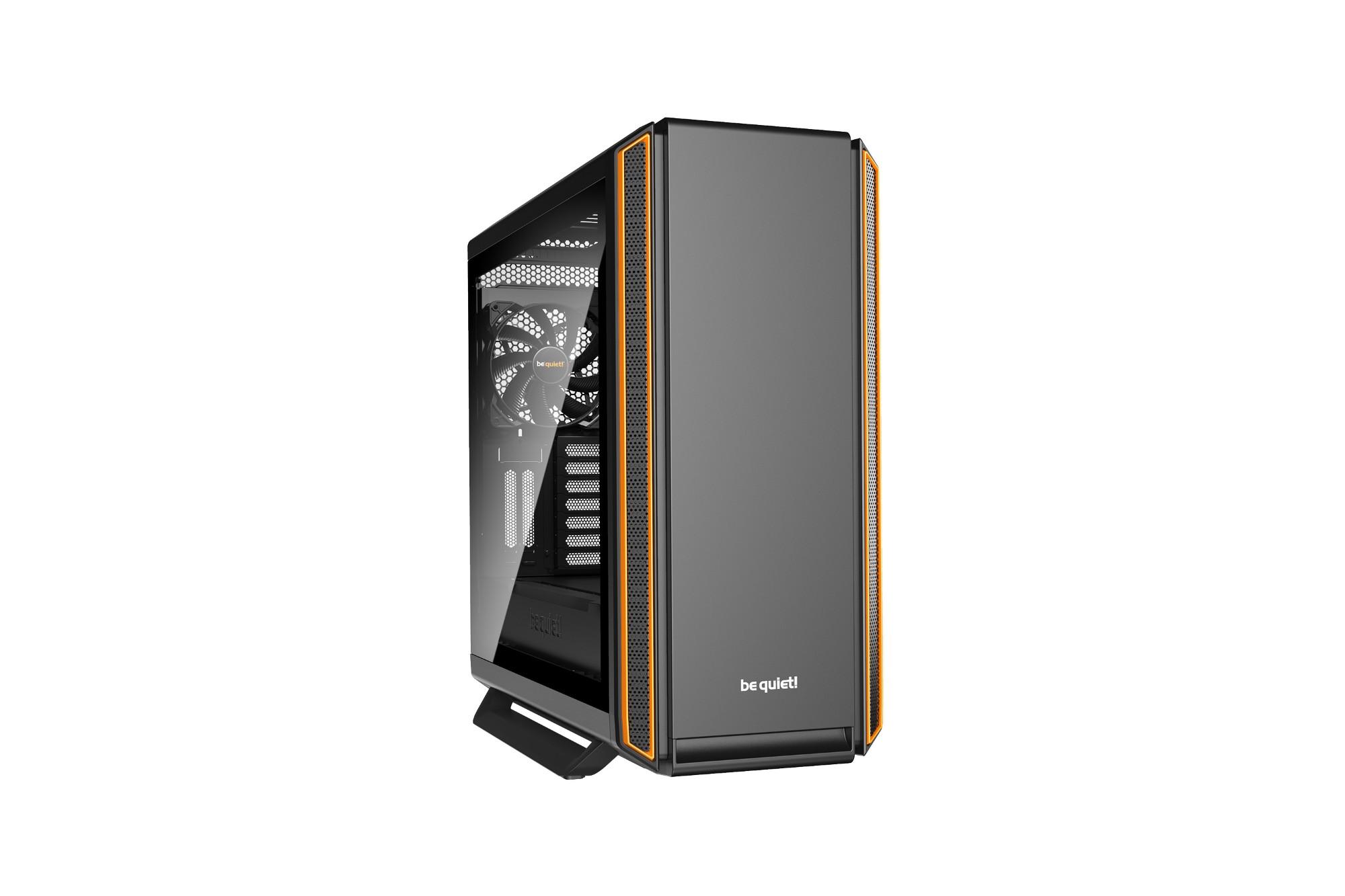Pc Case - Silent Base 801 Window Orange