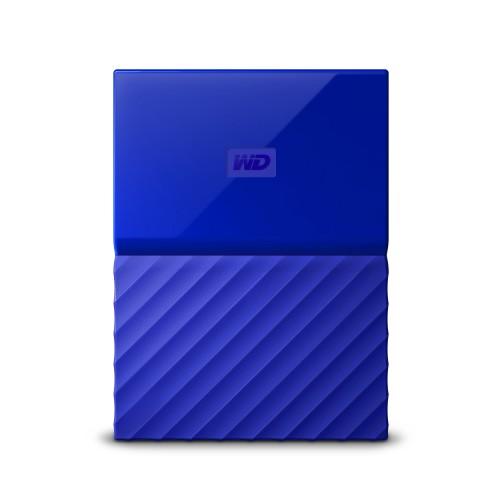 Western Digital My Passport external hard drive 1000 GB Blue