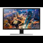 "Samsung U28E590D 71.1 cm (28"") 3840 x 2160 pixels 4K Ultra HD LED Black, Metallic"