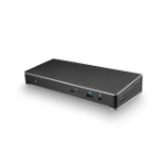 StarTech.com TB3DOCK2DPPD notebook dock/port replicator USB 3.0 (3.1 Gen 1) Type-C Black