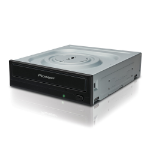 Pioneer DVR-S21WBK optical disc drive Internal Black DVD±RW
