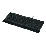 Logitech K280e keyboard USB QWERTY Italian Black