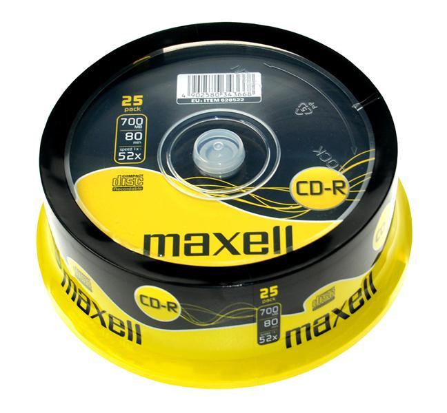 Maxell CD-R 700Mb CD-R 700MB 25pc(s)