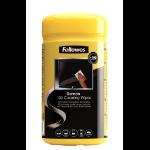 Fellowes 99703 equipment cleansing kit LCD/TFT/Plasma Equipment cleansing wet cloths