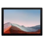 "Microsoft Surface Pro 7+ 128 GB 31,2 cm (12.3"") Intel® 11de generatie Core™ i3 8 GB Wi-Fi 6 (802.11ax) Windows 10 Pro Platina"
