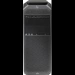 HP Z6 G4 Intel® Xeon® 4108 32 GB DDR4-SDRAM 1000 GB HDD Black Mini Tower Workstation