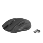 SUMVISION Amber HX Wireless Optical Mouse, 1600 DPI, Nano USB, 5 Buttons, Black, Retail