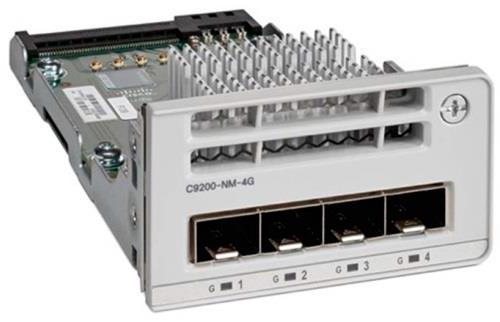 Cisco C9200-NM-4G network switch module Gigabit Ethernet