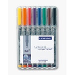 Staedtler 316 WP8 marker 1 pc(s) Black,Blue,Brown,Green,Orange,Red,Violet,Yellow