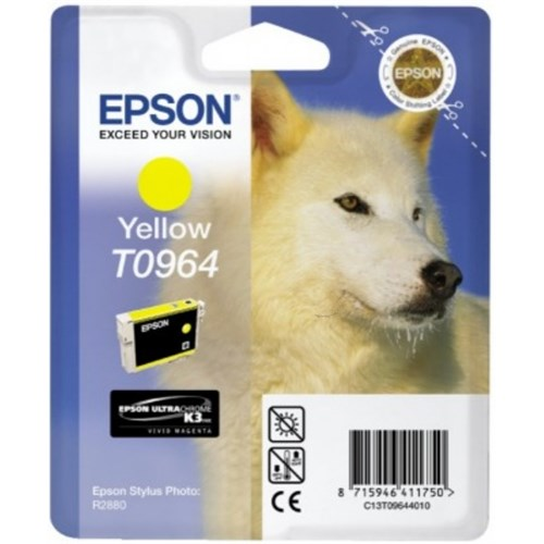 Epson C13T09644020 (T0964) Ink cartridge yellow, 890 pages, 11ml