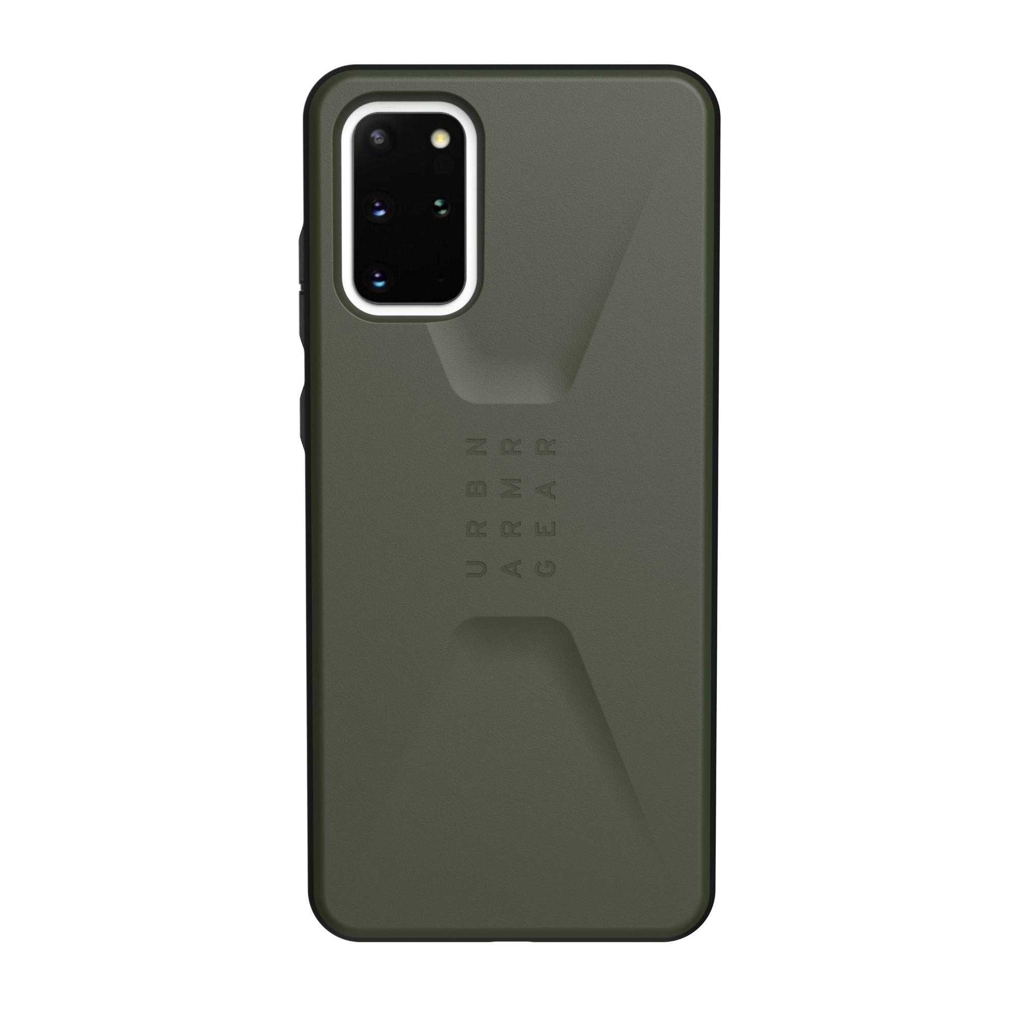 "Urban Armor Gear Civilian Series funda para teléfono móvil 17 cm (6.7"") Oliva"