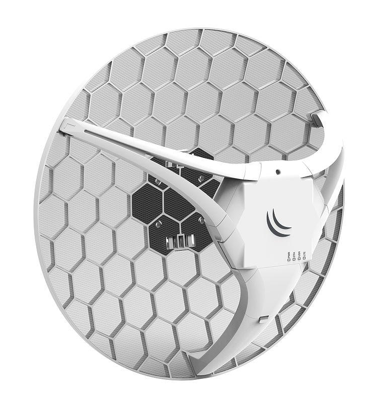 Mikrotik LHG LTE kit Outdoor cellular signal booster Grey,White