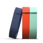 Fitbit FB401BTNTS correa Activity trackers Marina, Naranja, Turquesa