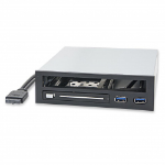 """SYBA SY-MRA55005 5.25"""" I/O ports panel Black,White drive bay panel"""