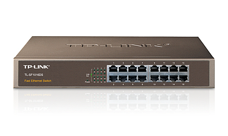 TP-LINK TL-SF1016DS Unmanaged network switch network switch